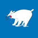 Polar Bear yelling by jasmineberry