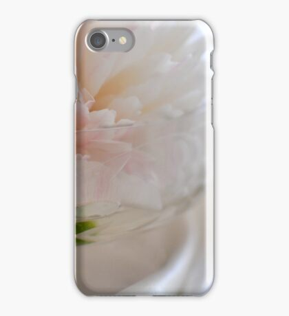 Peony on satin iPhone Case/Skin
