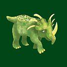 Triceratops worried dinosaur by jasmineberry