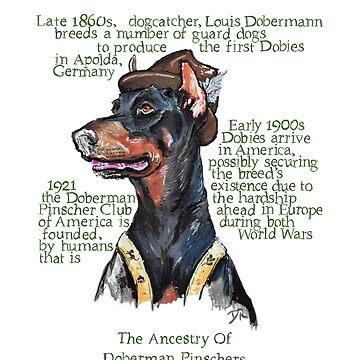 Doberman Pinscher History by douglasrickard