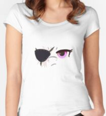 SS Eyes - Eyepatch ver Women's Fitted Scoop T-Shirt