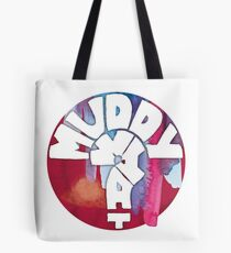 MUDDY WHAT? Logo Aquarell Tasche