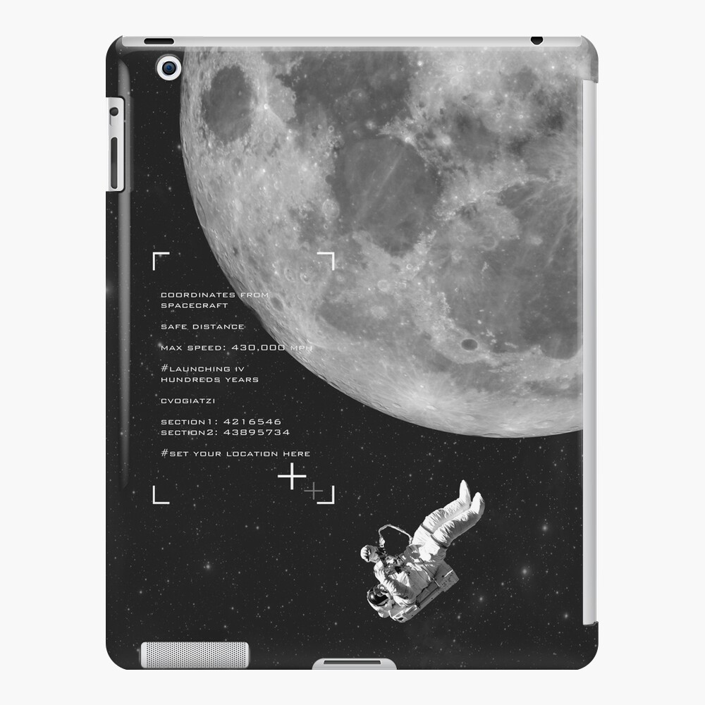 Set your location iPad Case & Skin