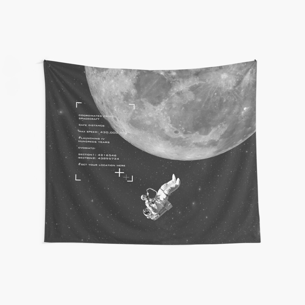 Set your location Wall Tapestry