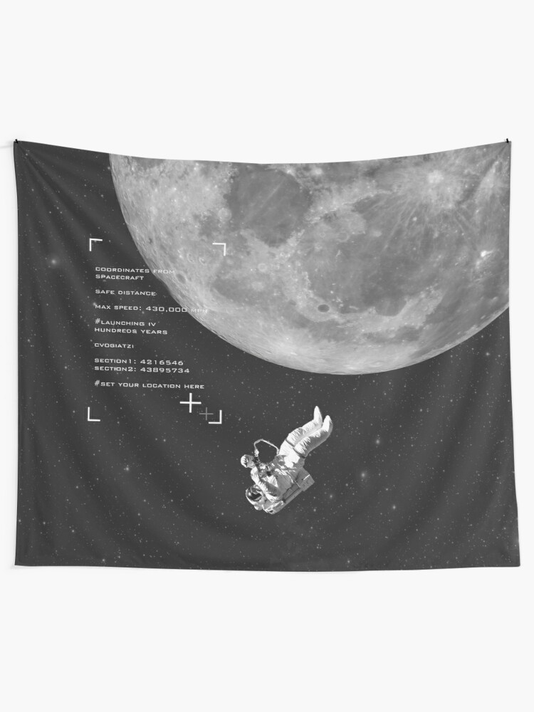 Alternate view of Set your location Tapestry