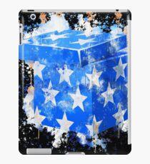 Vinilo o funda para iPad Gifts blue wrapped watercolor painted