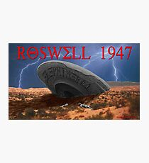 Roswell Lightning Photographic Print
