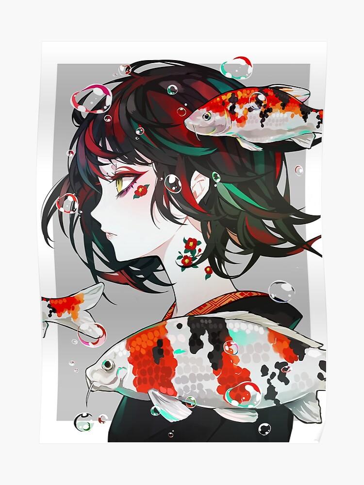 koi anime fish ile ilgili görsel sonucu