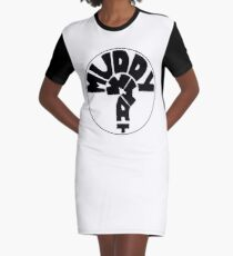 MUDDY WHAT? Logo classic T-Shirt Kleid