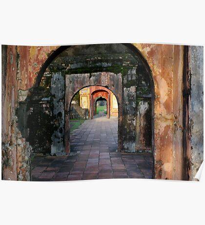 Hue Citadel Arch Poster