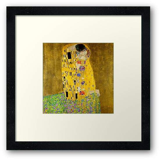 The Kiss - Gustav Klimt by Chunga