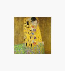 The Kiss - Gustav Klimt Art Board