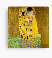 The Kiss - Gustav Klimt Canvas Print