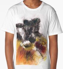 Curbar Edge II - Derbyshire Peak District Landscape Gift Long T-Shirt