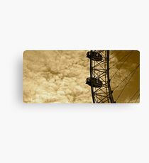 Among the clouds-timeless Canvas Print