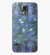 Monet - Blue Waterlilies Case/Skin for Samsung Galaxy