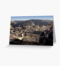 Matera Greeting Card