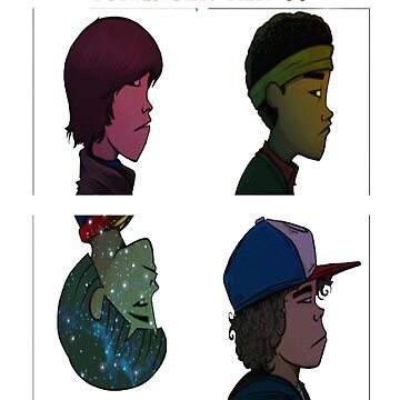 Stranger Things Gorillaz by Caitlin123123