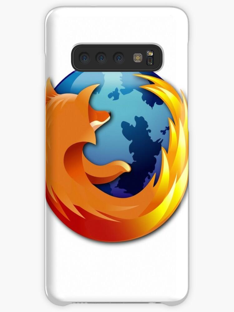 'Firefox logo' Case/Skin for Samsung Galaxy by Quiraily
