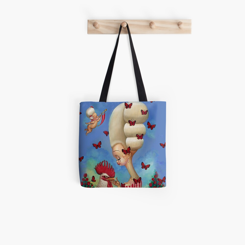 COCK-A-DOODLE Tote Bag