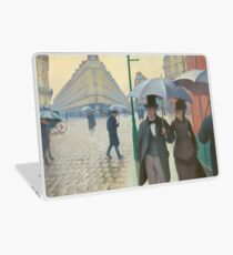 Gustave Caillebotte - Paris Street, Rainy Day Laptop Skin