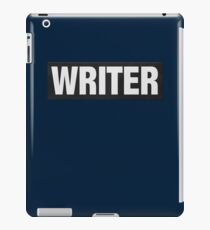 Writers aren't bulletproof iPad Case/Skin