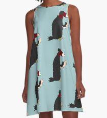 Snoot the Buzzard  A-Line Dress