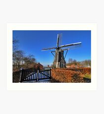 """Gristmill """"The Poel"""" at Nisse Art Print"""
