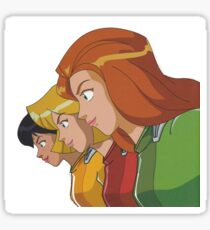 totally spies portrait Sticker