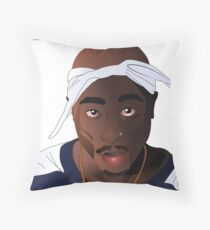 Hip Hop Legend Throw Pillow