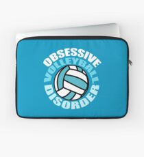 Funny Obsessive Volleyball Disorder Laptop Sleeve