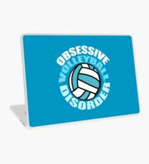 Funny Obsessive Volleyball Disorder Laptop Skin