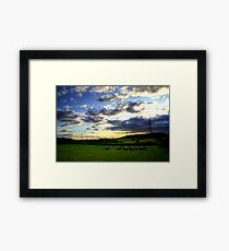 Brockadale Nature Reserve Framed Print