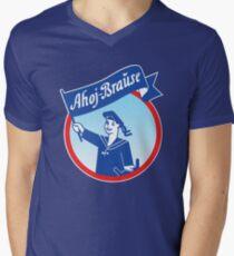 Ahoj Brause T-Shirt mit V-Ausschnitt