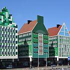 Cityhall Zaandam - Netherlands by Arie Koene