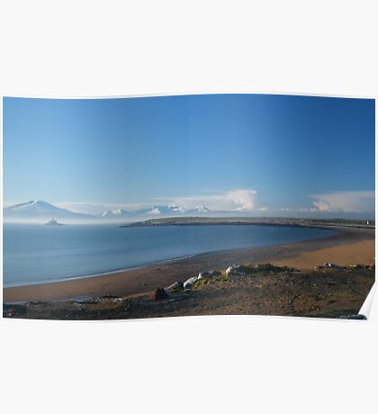 Fenit strand and promenade Christmas 2009 Poster