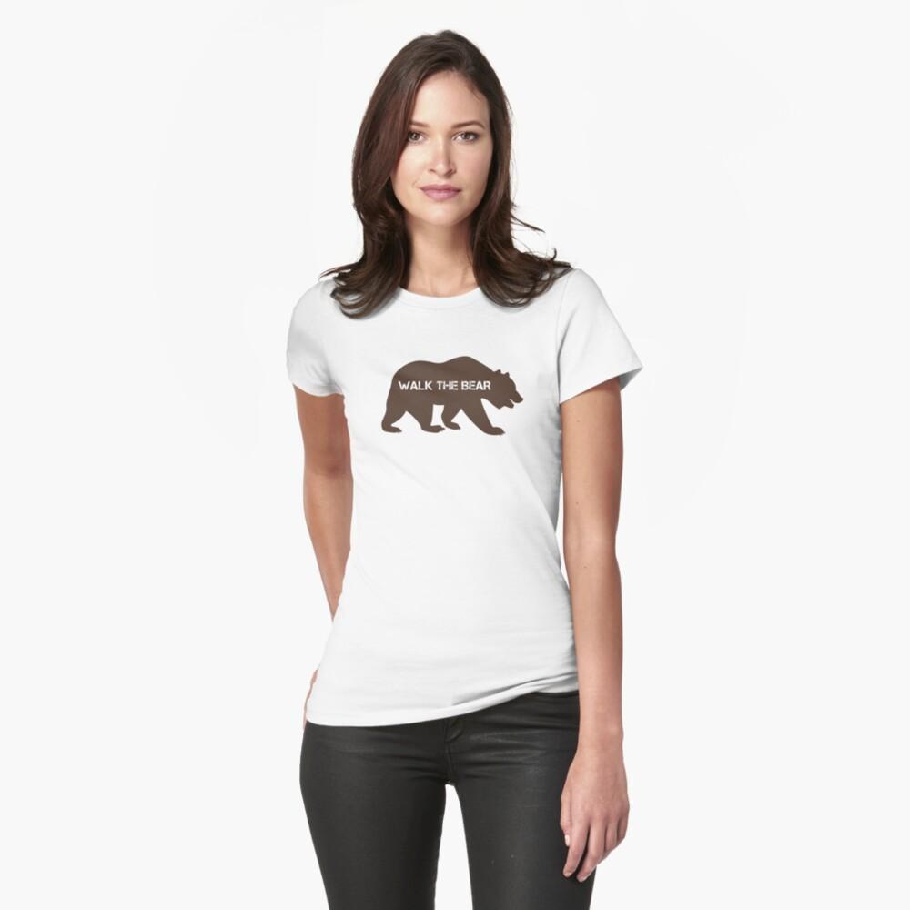 Walk the bear (Plimba ursu') Womens T-Shirt Front