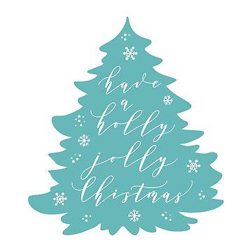 Feliz año nuevo cita en el árbol de Navidad. Adhesivo, tarjeta, impresión de natakuprova