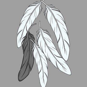 Plumas que caen del bien y del mal de Rvaya