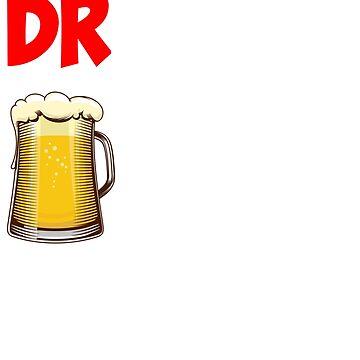 Druncle Beer Funny by berryferro