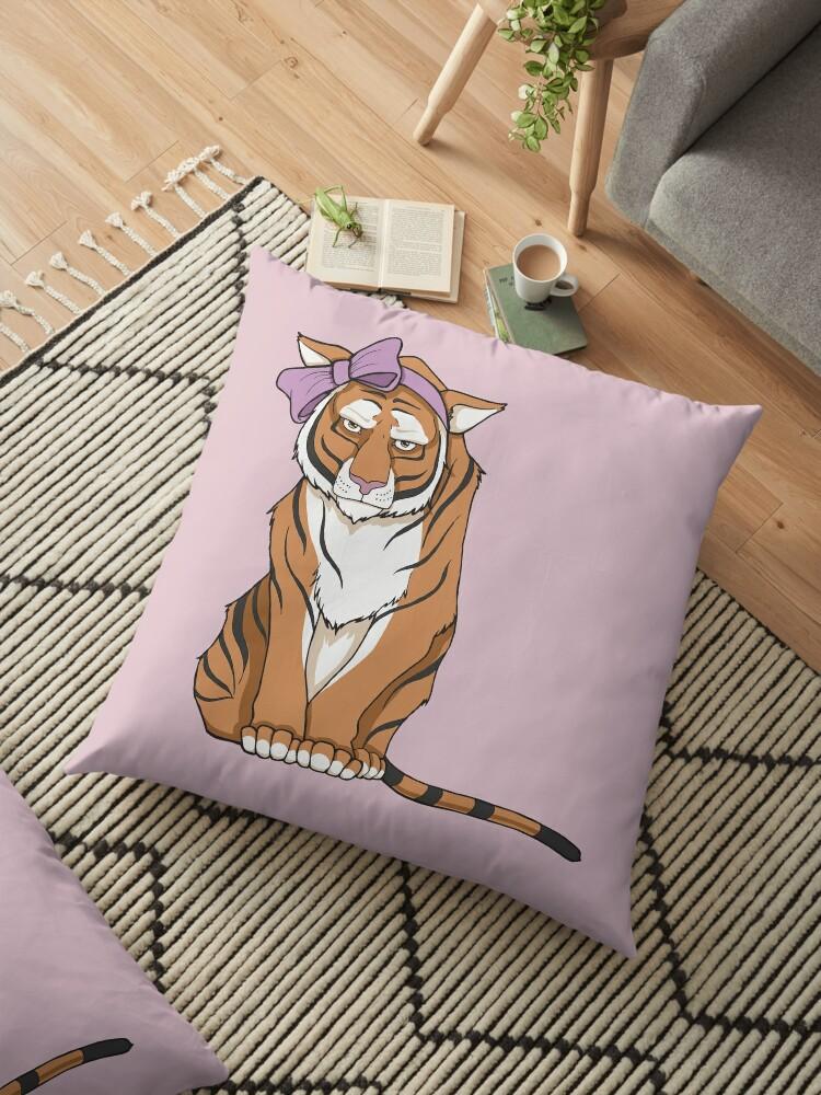 «No me llames lindo - Tigre en lazo rosa» de Christina G. Smith