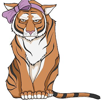 No me llames lindo - Tigre en lazo rosa de Rvaya