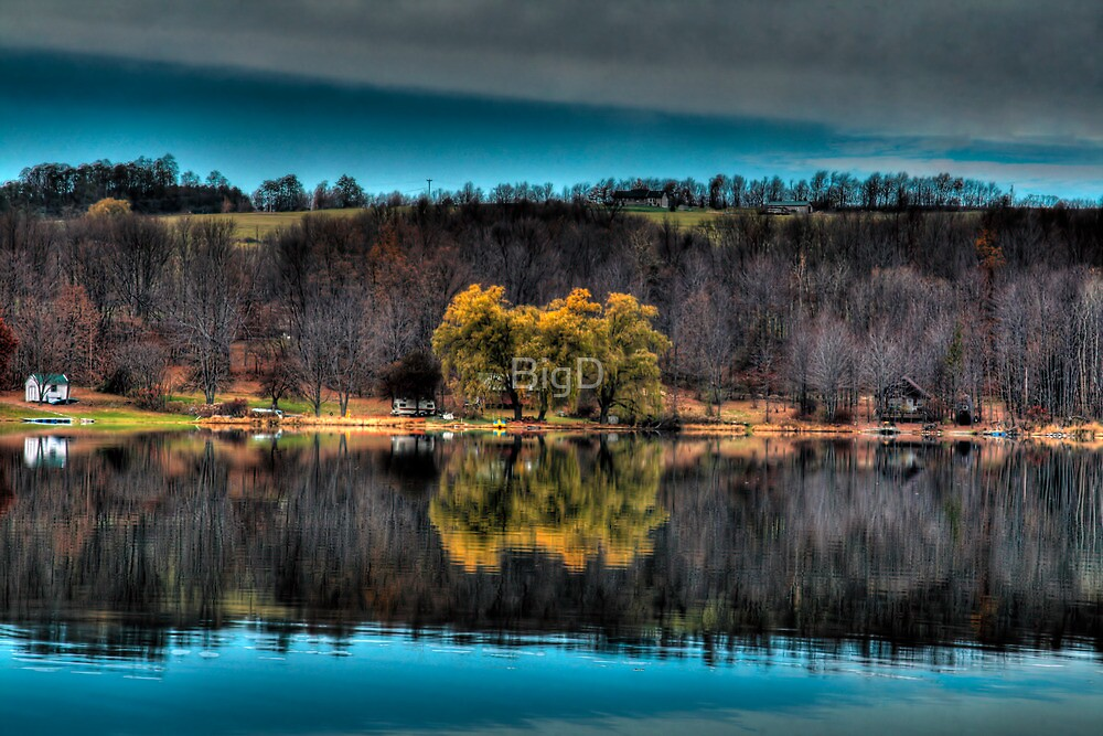 Brenchley's Lake by BigD