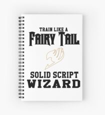 Fairy Tail - Train like Levy! Spiral Notebook