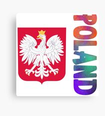 Poland - Coat of Arms Canvas Print