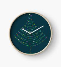 Christmas Tree Lights Clock