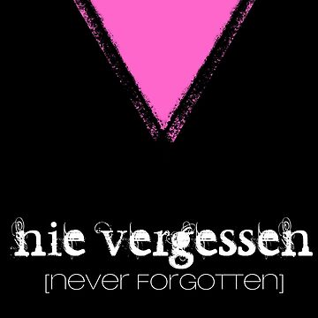 NIE VERGESSEN - NEVER FORGOTTEN by Yago