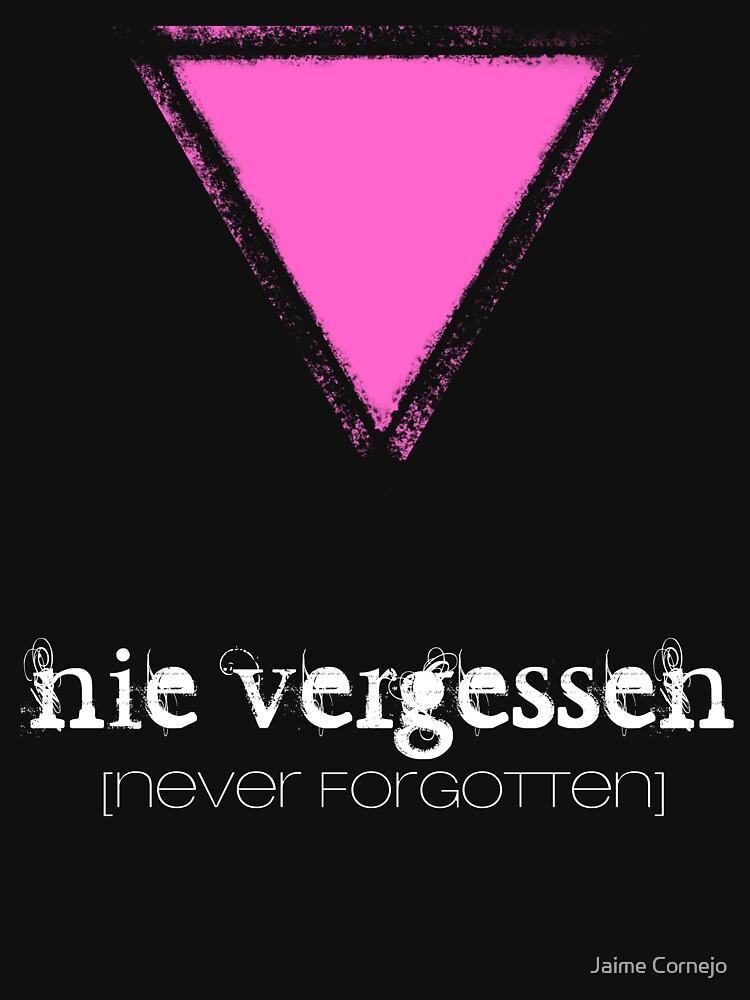 NIE VERGESSEN - NEVER FORGOTTEN by Yago