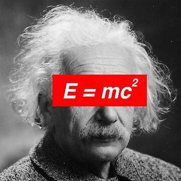 Albert Einstein's E = mc²  by qqqueiru