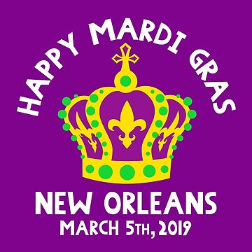 New Orleans NOLA Mardi Gras King and Queen Krewe 2019 by machmigo
